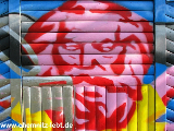 karl marx graffiti