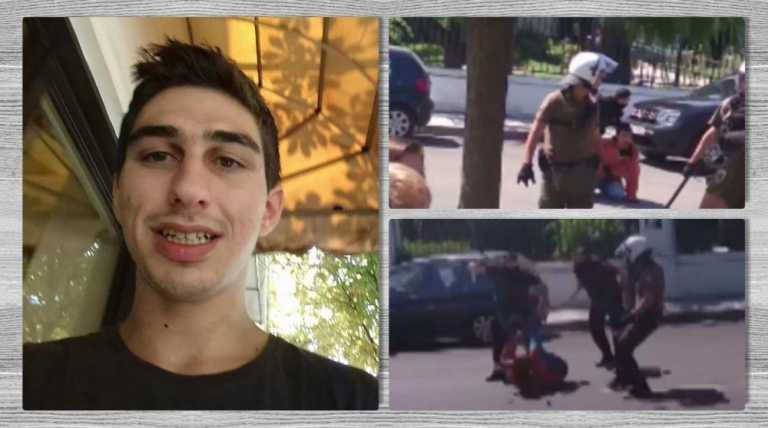 Ο αγωνιστής Βασίλης Μάγγος υπέστη δολοφονική αστυνομική βία – Κάτω η κρατική-κυβερνητική τρομοκρατία!