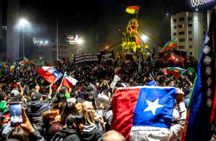Δήλωση των συντρόφων στη Χιλή για τη μεγάλη νίκη του «Ναι»  στο δημοψήφισμα για το Σύνταγμα