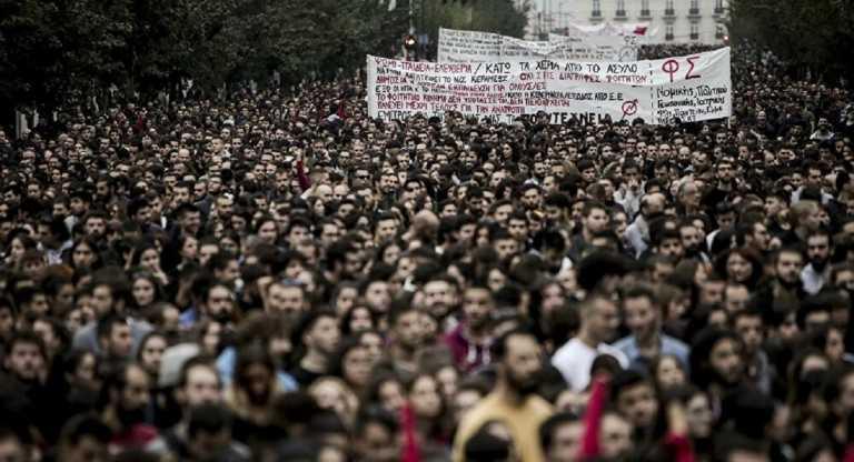 Η τρομοκρατία της κυβέρνησης στη νεολαία δεν θα περάσει!