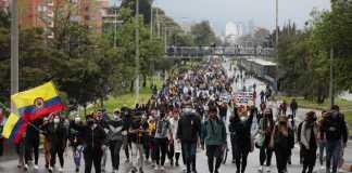 Κολομβία γενική απεργία