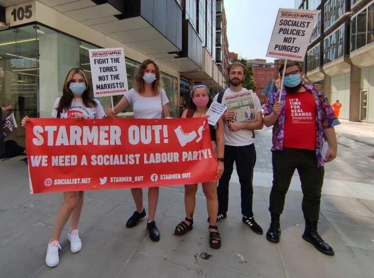 Η αριστερά του Εργατικού Κόμματος στηρίζει τη μαρξιστική τάση «Socialist Appeal»-«Οι σοσιαλιστές μέσα, ο Στάρμερ έξω!»